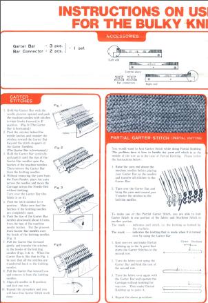 SK120 Garter Bar Instructions