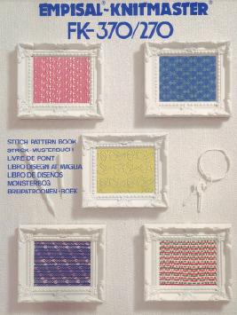 Empisal Knitmaster FK-370-270 Pattern Book