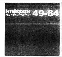 Knittax AM3 Muster Karten 49-64