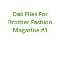 Brother Fashion Magazine 03 Files for Designaknit