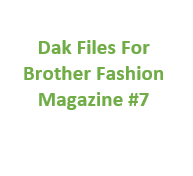 Brother Fashion Magazine 07 Files for Designaknit