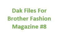 Brother Fashion Magazine 08 Files for Designaknit