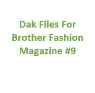 Brother Fashion Magazine 09 Files for Designaknit