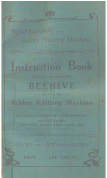 Beehive Knitting Machine Instruction Manual