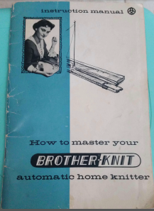 Brother Atomatic Home Knitter User Manual
