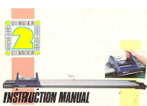 Singer Designer 2 Instruction Manual