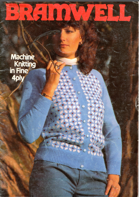 Bramwell - Machine Knitting in Fine 4ply Magazine