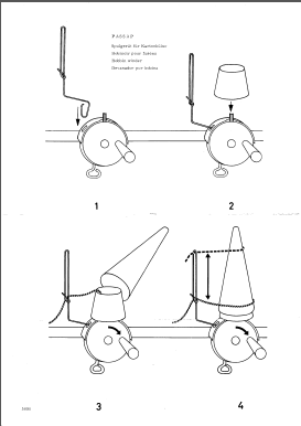 Passap Bobin Winder Device Manual