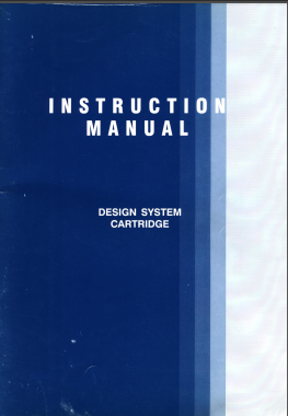 Brother PPD for CK35 Patterning Device User Guide English