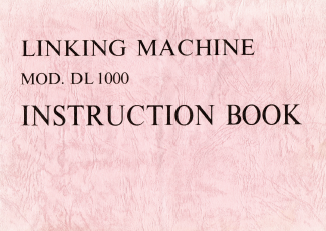 DL1000 Linker User Manual