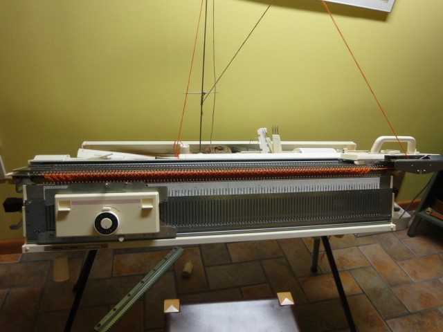 Knitking Pc Bulky With Ribber Kh260kr260 Knitting Machine For Sale