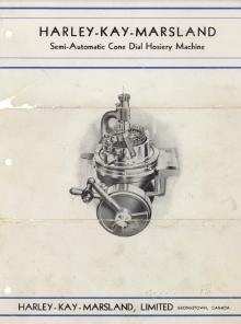 Harley Kay Marsland Instruction Manual