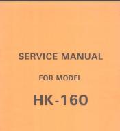 HK160 and MK70 Knitting Machine Service Manual
