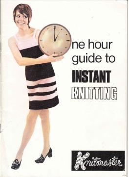 Knitmaster Instant Knitting Machine Instruction Manual