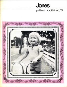 Jones Pattern Books No 10.