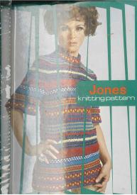 Jones 8 stitch Knitting Pattern Book