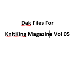 KnitKing Vol 05 Files for Designaknit