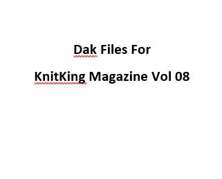 KnitKing Vol 08 Files for Designaknit