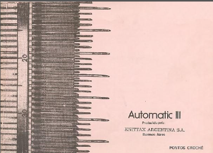 Knittax Automatic III Pattern Book