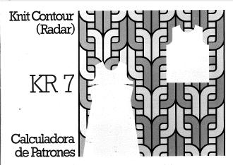 KR7 Knit Radar User Manual