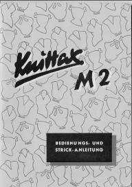 Knittax M2 Bedienungs- und Strickanleitung