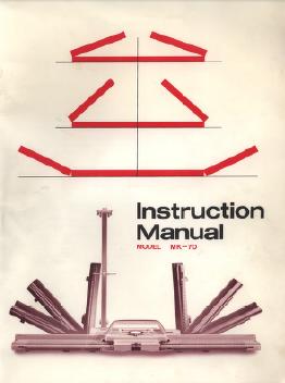 Singer MK70 Knitting Machine Instruction Manual