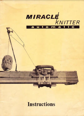 Necchi Elna Miracle Knitter User Guide