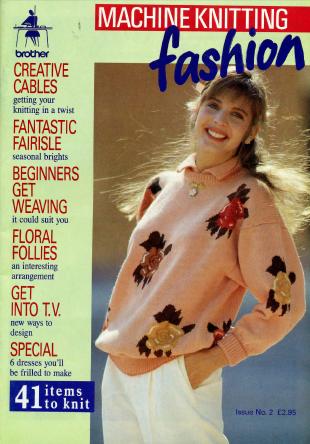 Machine Knitting Fashion Issue No. 02