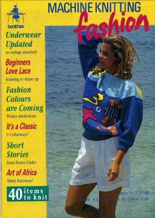 Machine Knitting Fashion Issue No. 03