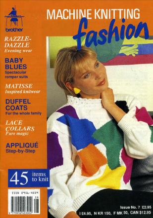 Machine Knitting Fashion Issue No. 07