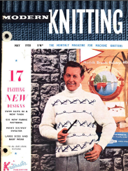 Knitmaster Modern Knitting 1958-May