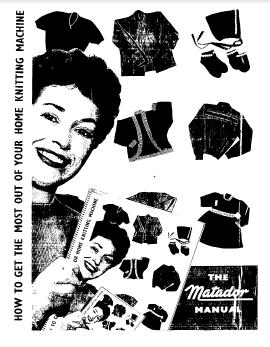 Matador Knitting Machine Instructions
