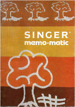 Singer Memomatic Instruction Manual