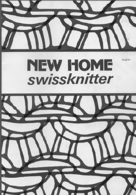 New Home Swissknitter & Passap Goldy Instruction Manual
