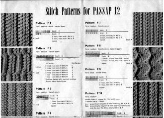 Passap12 Stitch Patterns Book