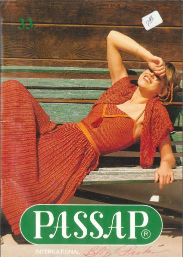 Passap #33 Pattern Book