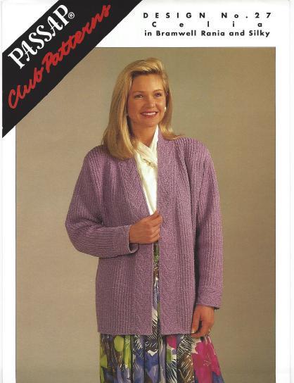 Passap Club - Design No. 27 Pattern Book