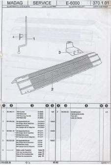 Passap E6000 Parts