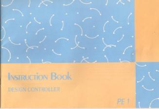 PE1 Design Controller User Manual