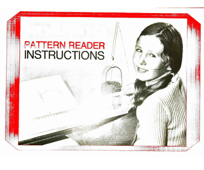 Knittax KnitKing Pattern Reader Instructions