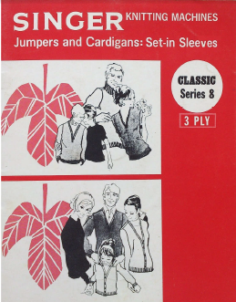 Singer Series 08 3 Ply Jumpers and Cardigans Set In Sleeves