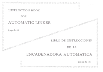 SC3 Automatic Linker User Manual
