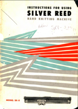 SK8-200 Knitting Machine Manual