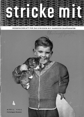 Stricke Mit 4-1956 Machine Knitting Magazine