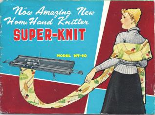 Home Knitter Fair Isle Model NT-10