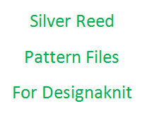 Silver Reed Files for Designaknit