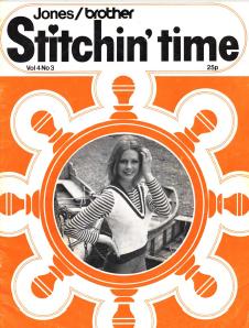 Jones-Brother Stitchin Time Vol.4 No.3 pattern book