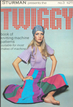 Twiggy Book of Machine Knitting Patterns