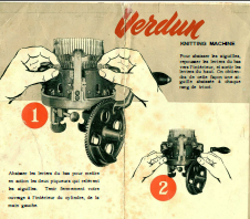 Verdun Knitting Machine Instruction Book