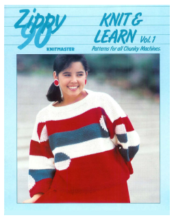 Knitmaster Zippy 90 Knit & Learn Vol 1